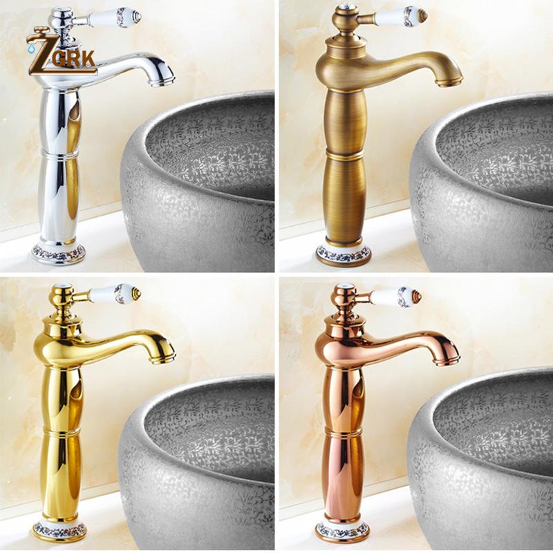 Vintage Bathroom Brass Teapot Type Wash Basin Faucet Antique Copper Sink Basin Faucet Mixer Tap Hot And Cold Vintage Bathroom Copper Sink Kitchen Sink Taps