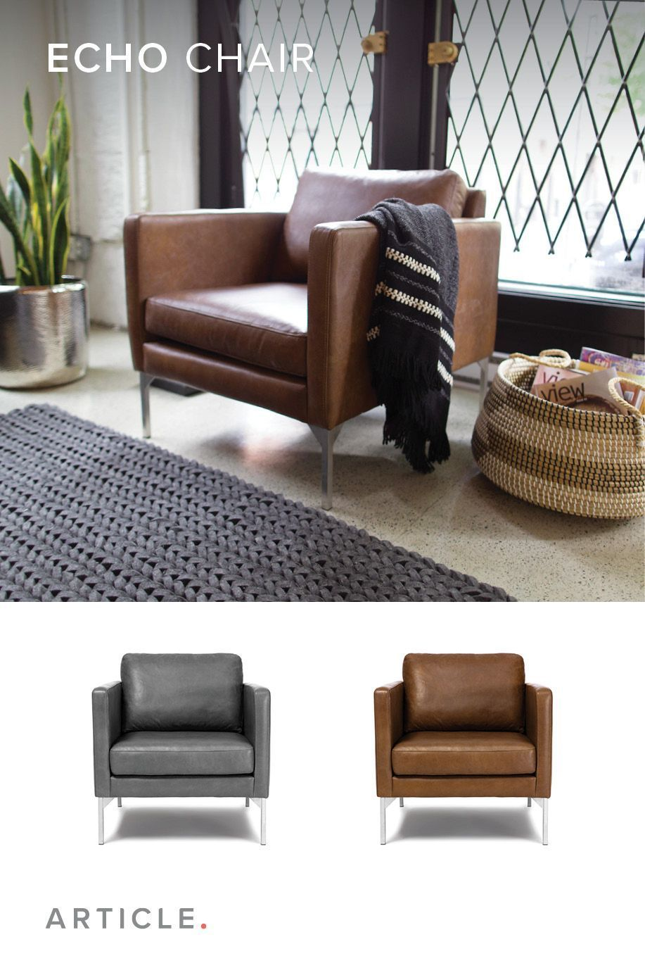 Like A Well Made Suit The Echo Chair Features Clean Lines And Strong Sching Livingroomremodeling Livingroomremodelideas