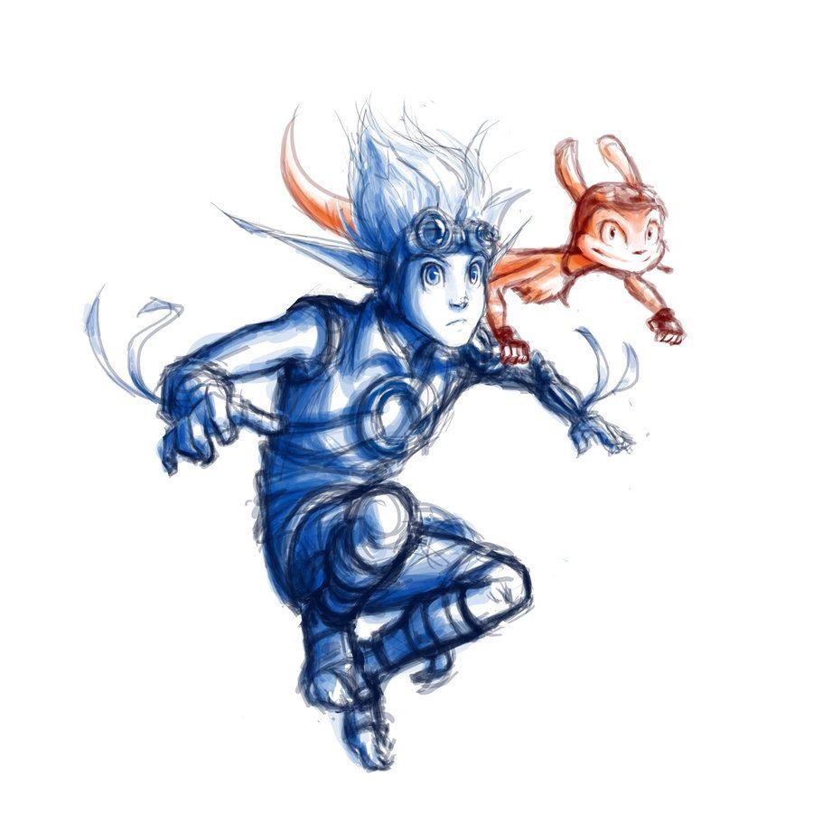 Samos Jak And Daxter Google Search Jak Daxter Game Art Art