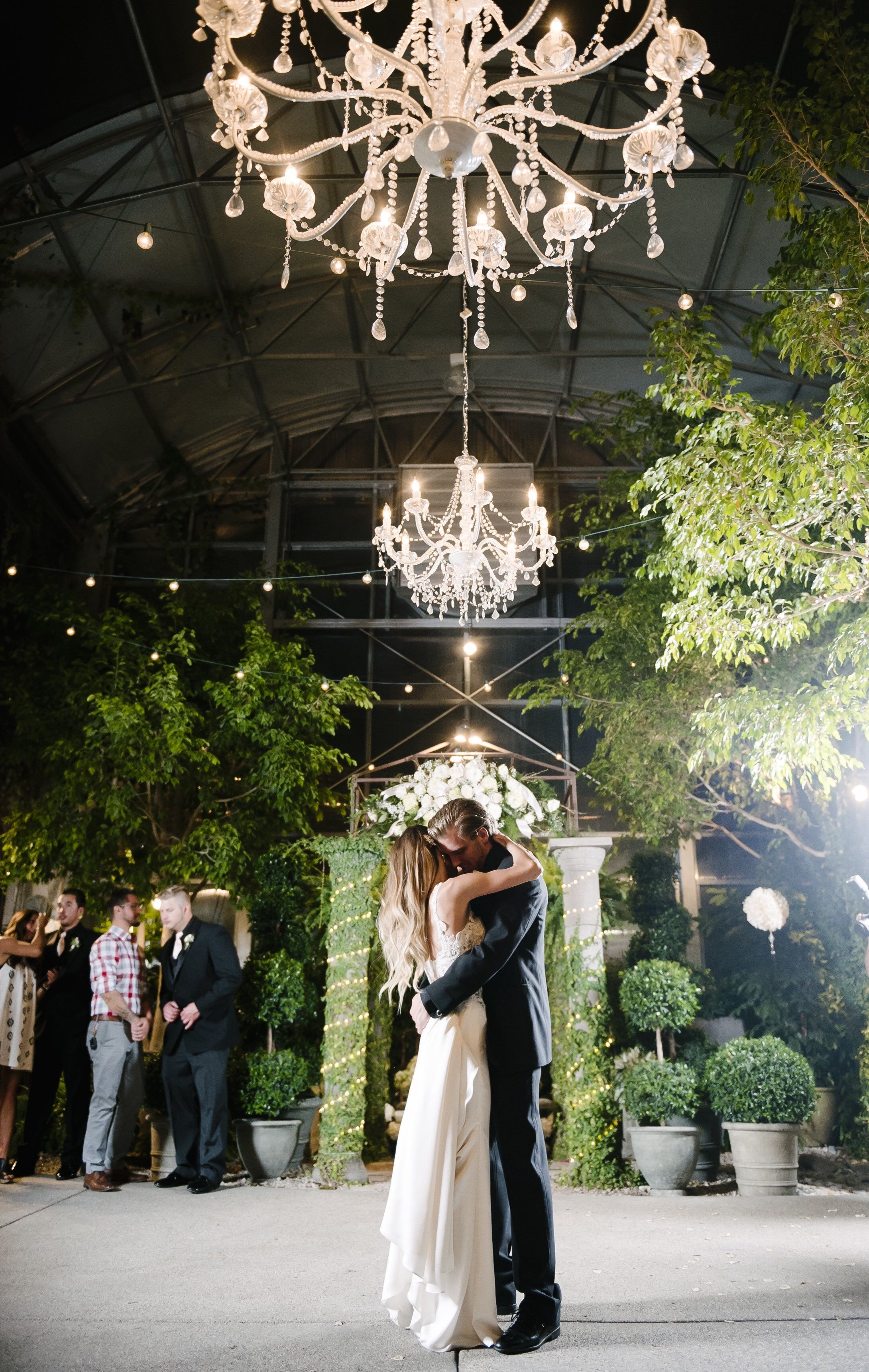 Downtown garden wedding black tie wedding destination wedding boho