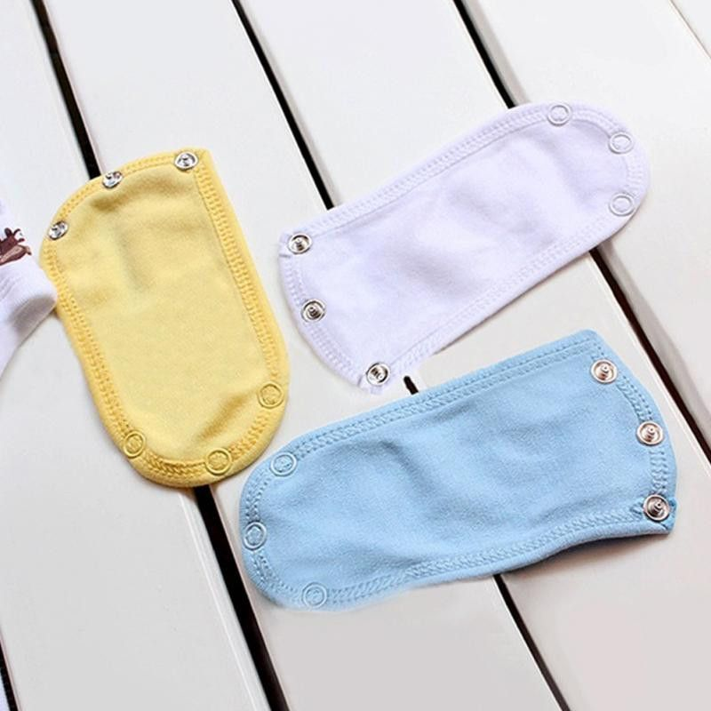 Changing Pads & Covers Nappy Changing Baby Romper Crotch Extenter Child One Piece Bodysuit Extender Baby Care 13*9cm