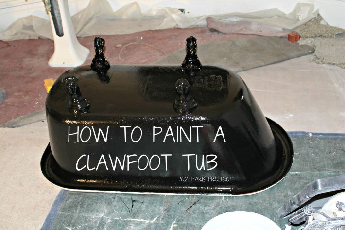 Clawfoot Tub Paint Diy My Next Project With Images Clawfoot Tub Bathtub Makeover Tub
