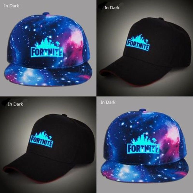 0e1b941e11a Fortnite Boys Gamer Girls Baseball Cap Outdoor Sun Sport Hat Logo Glow In  Dark U  fortnite  fortnitebattleroyale  live
