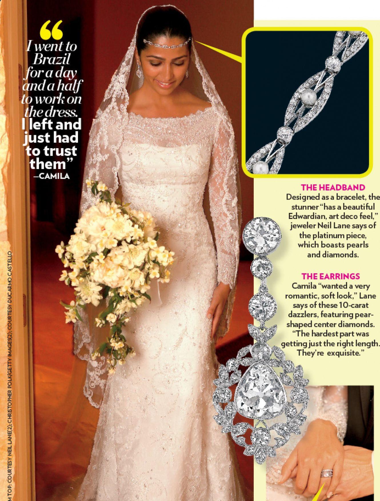 Fein Camila Alves Wedding Dress Fotos - Brautkleider Ideen ...