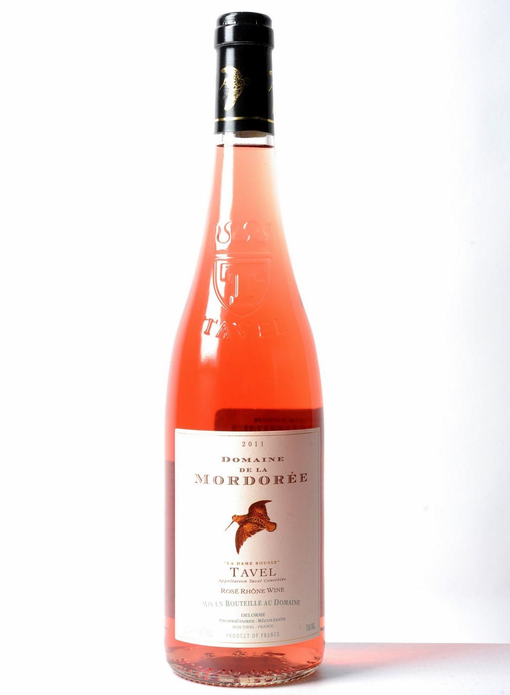 Cote20 Vin Rhone Domaine De La Mordoree Tavel La Dame Rousse Rose 2011 75cl 264 Jpg 1100 1500 Wine Bottle Rose Wine Bottle Wines
