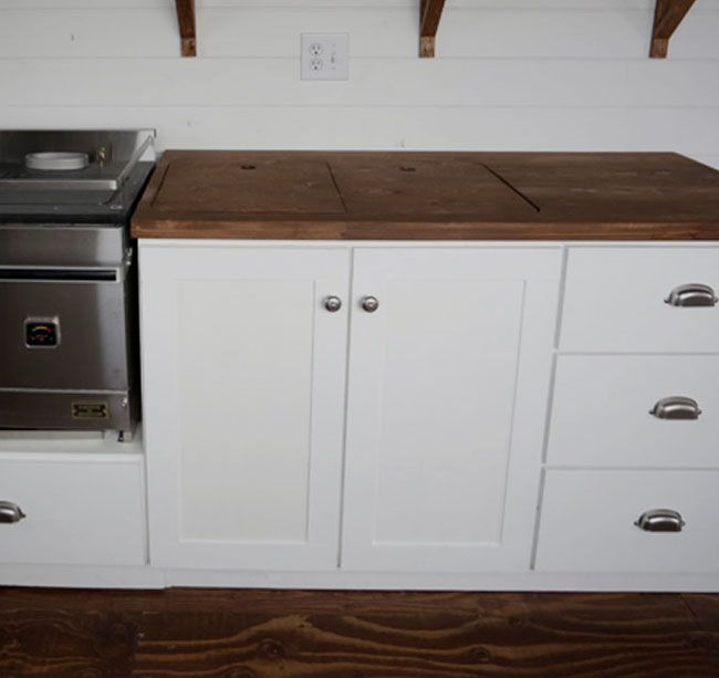 Ana White Build A Euro Style Kitchen Sink Base Cabinet For Our Tiny House Free And Easy Diy Project Furniture Plans