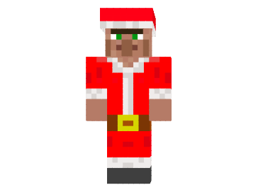 How To Install Santa Villager Skin For Minecraft First Download This