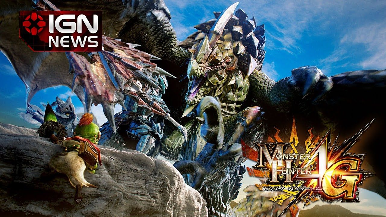 Monster Hunter 4 Ultimate Ships 1 Million Copies In The West Ign News Monster Hunter World Wallpaper Monster Hunter World Monster Hunter