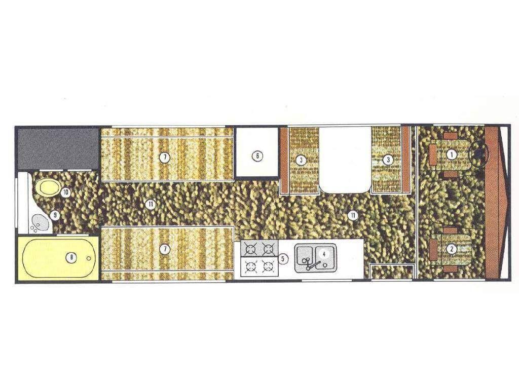 1972 Winnebago Chieftain Floor Plan Used Rvs Motorhomes For Sale Rv Motorhomes