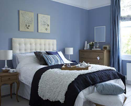 royal blue bedroom ideas | Blue Bedroom Decorating | Blue ...