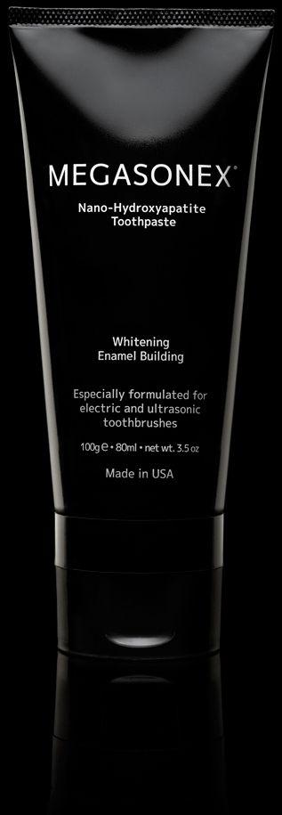 MEGASONEX® Nano-Hydroxyapatite Whitening Toothpaste for