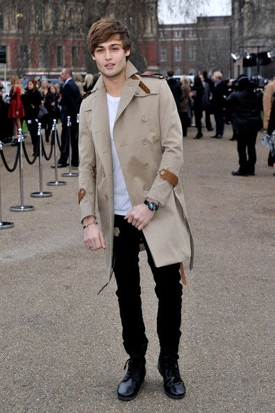 trench coat  - this is the right way to wear it. Men make the mistake of wearing a trench coat with bulky shoes and baggy jeans... no no no! - if you going to wear it please do it this way!  Nice coat, a bit short on the arm though