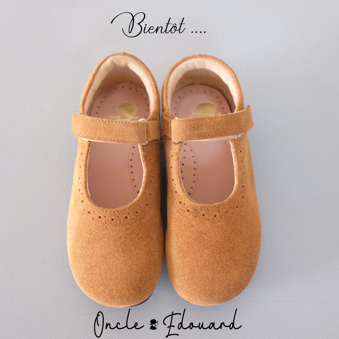 competitive price 7d1eb 61d6f Oncle Édouard, spécialiste du soulier classique pour enfants, revient tout  bientôt.