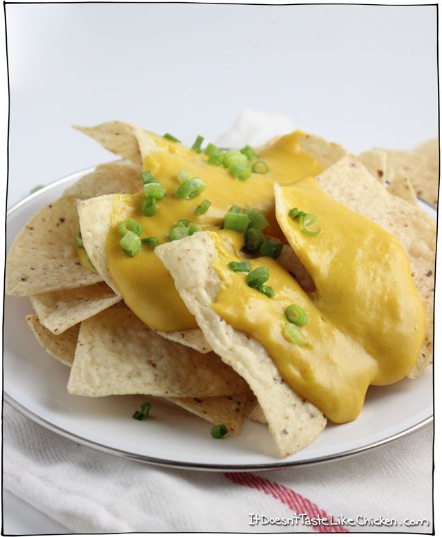 Melty Stretchy Gooey Vegan Nacho Cheese Recipe Vegan Nachos Vegan Nachos Cheese Recipes