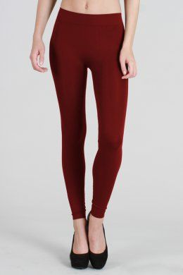 NB5182 Solid Thick Leggings
