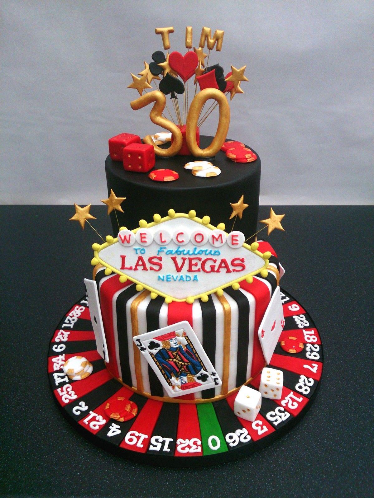 Poker Birthday Cake London