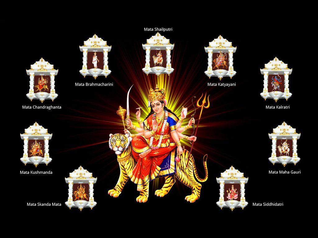 Navratri Photo Full Hd In 2020 Happy Navratri Happy Navratri Images Navratri Wishes