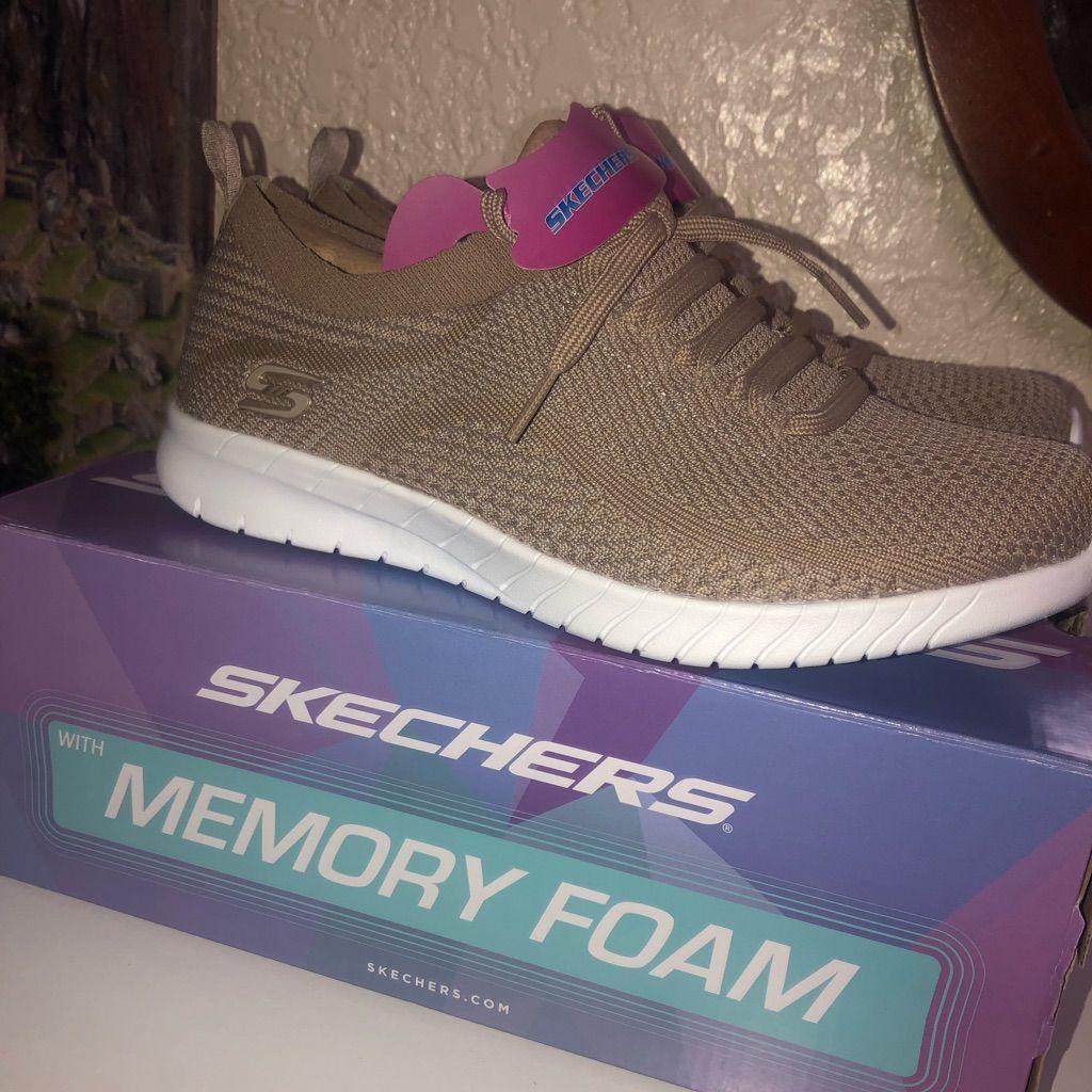 skechers memory foam shoes for women