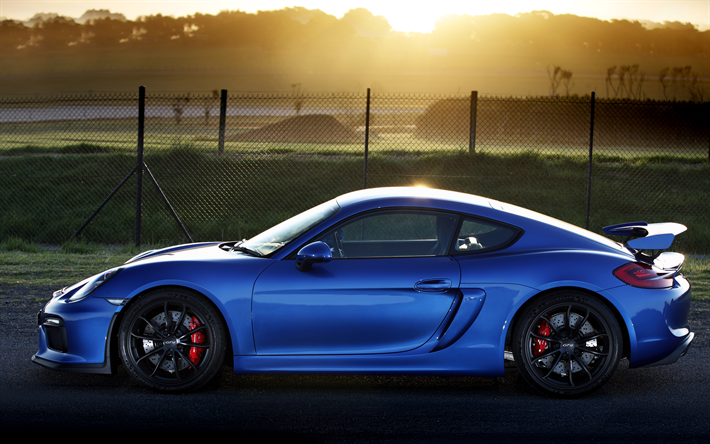Download Wallpapers Porsche Cayman Gt4 Side View 4k Sports Coupe Blue Cayman Gt4 German Cars Porsche Besthqwallpapers Com Cayman Gt4 Porsche Sports Coupe