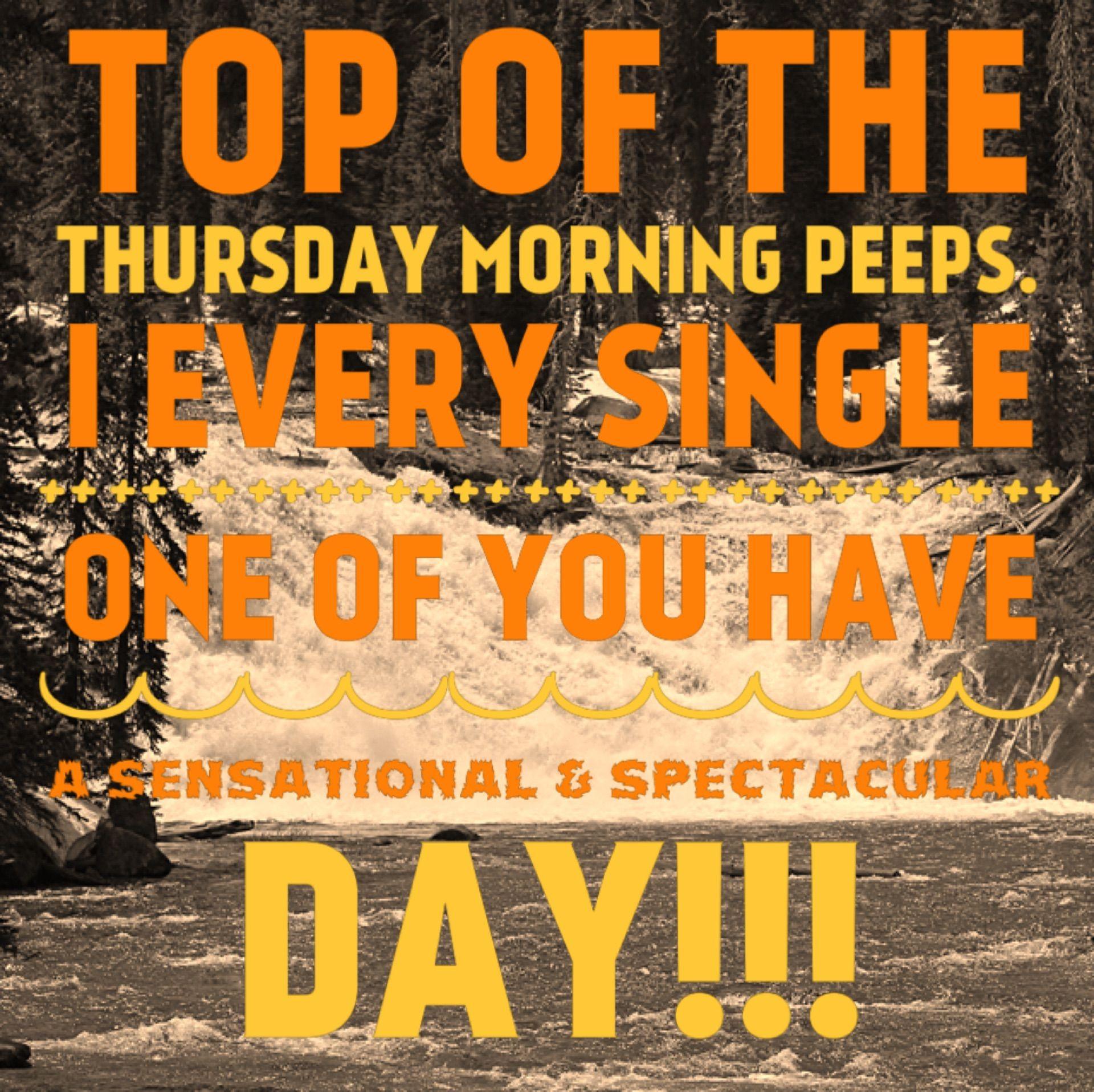 Top TheMorning Thursday Sensational Spectacular