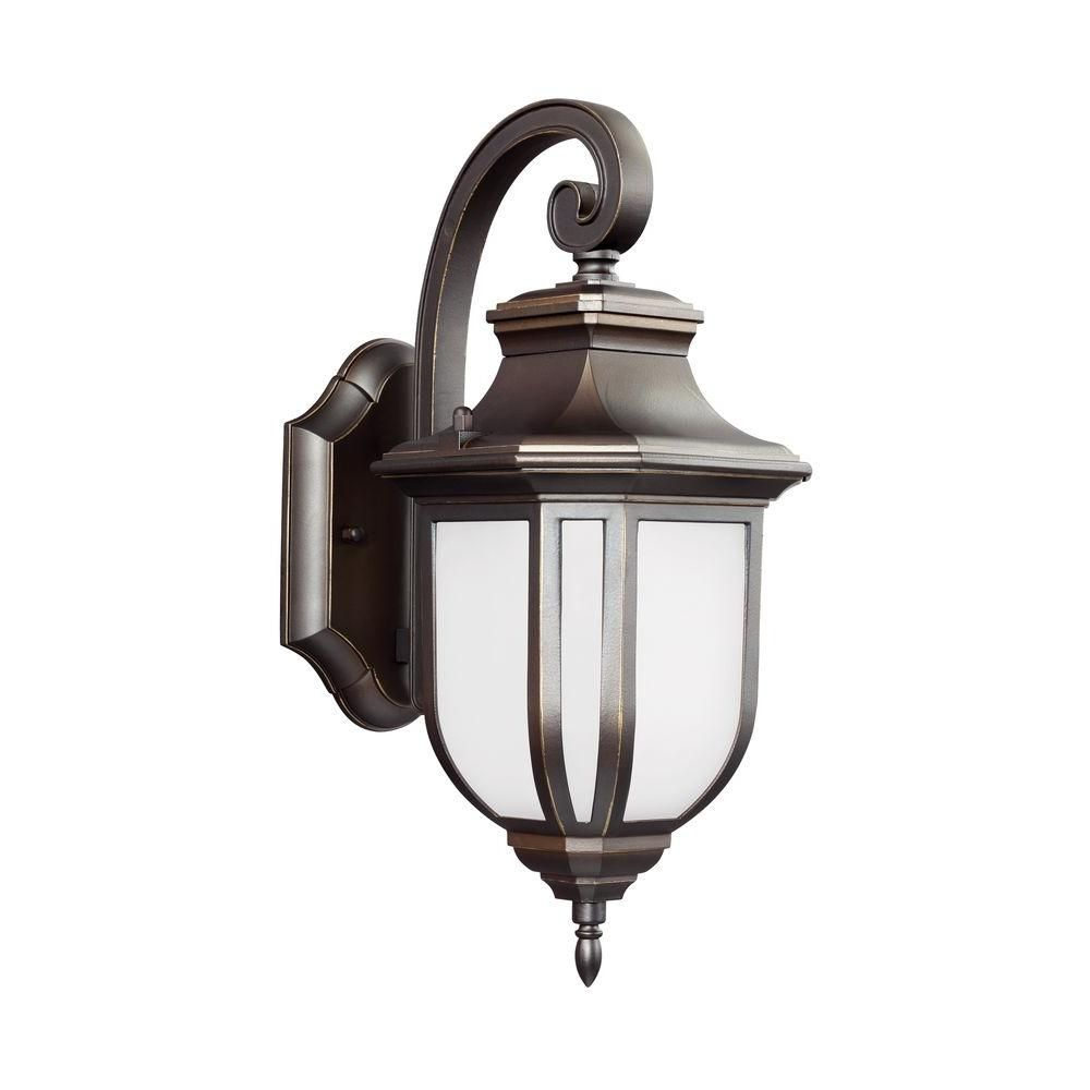 Childress light antique bronze wall lantern gull outdoor walls