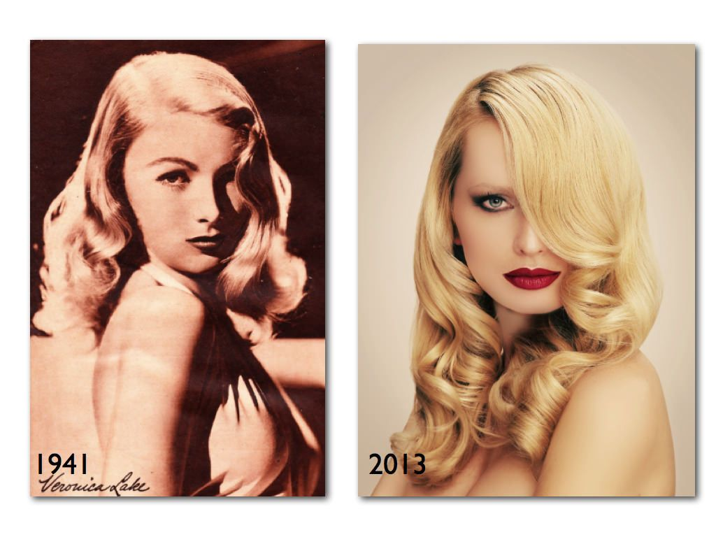 vintage hairstyles ideas to look timeless beauty | hollywood waves