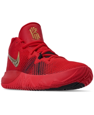 Nike Men s Kyrie Flytrap Basketball Sneakers from Finish Line - Red ... 681de7173