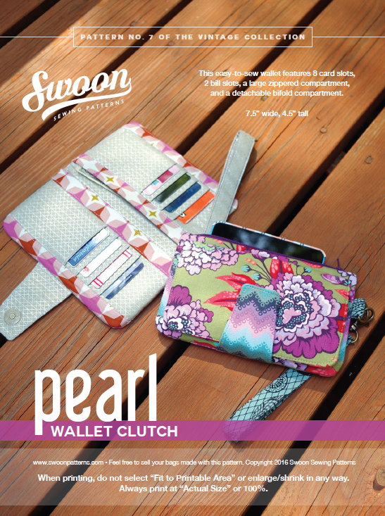 Swoon Pearl Wallet Sew Along Video Screen Shot 30th And Sewing