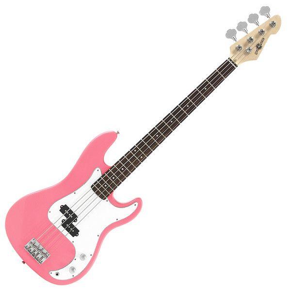 Pink Bass Guitar, yeah!!