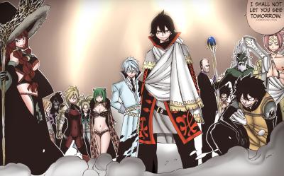 """coldkittenlizchan """"Spriggan 12 + The Emperor Spriggan"""