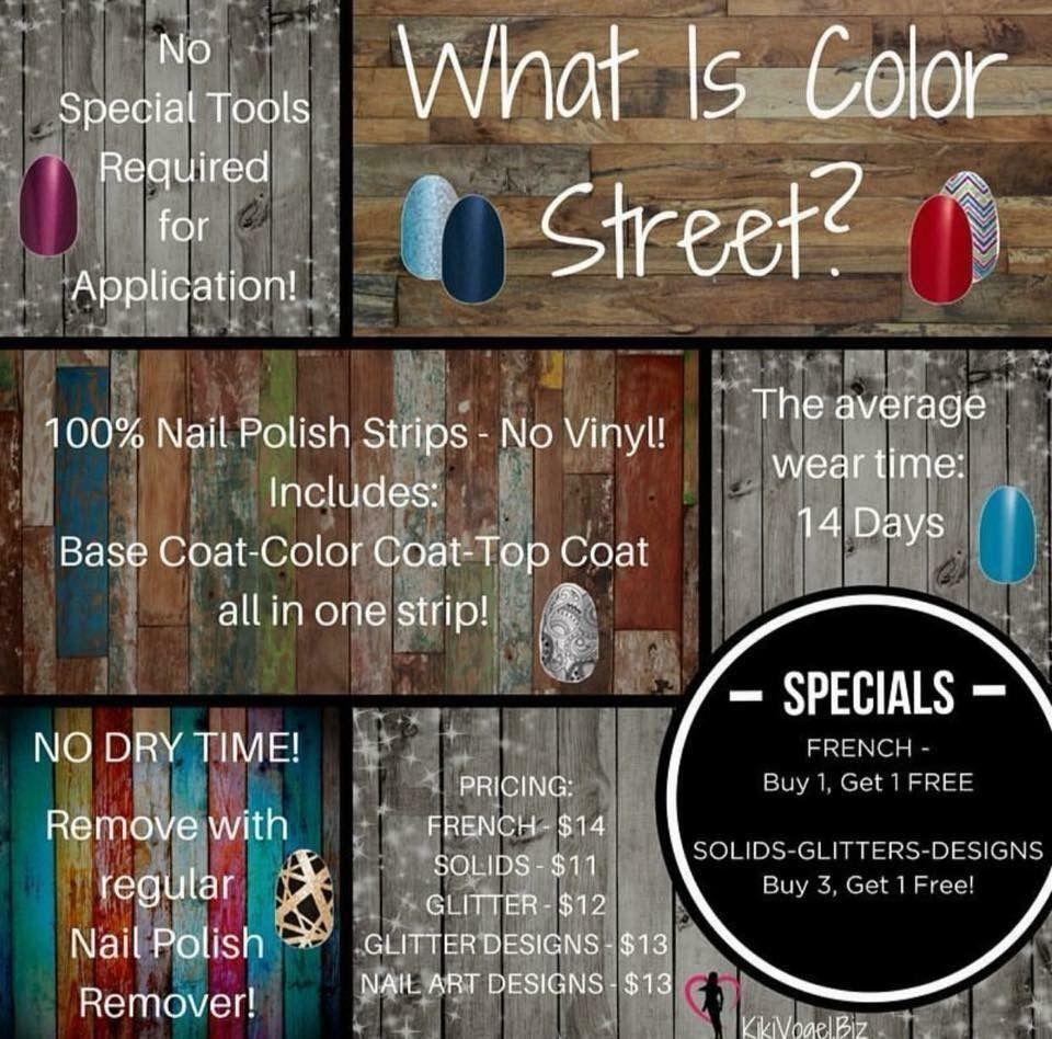 Color Street 100 Nail Strips Mycolorstreetnailgal Nails