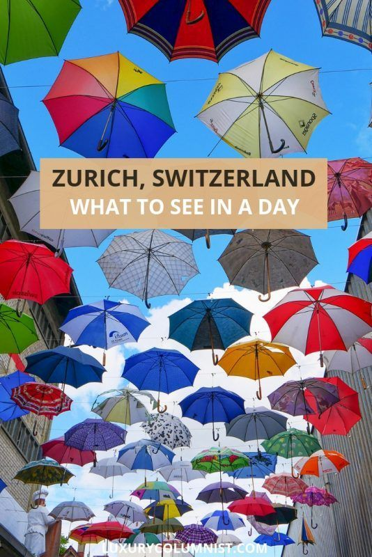 What to See with One Day in Zurich, Switzerland