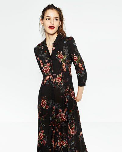 lange jurken zara