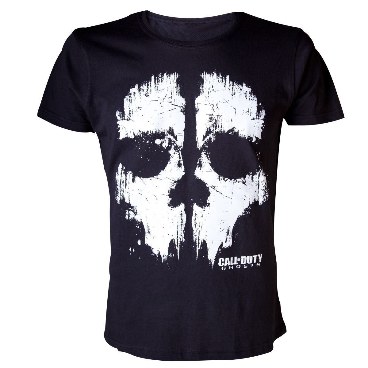 T-Shirt Call Of Duty Ghosts Noir Skull Symbol - 22,99 ...