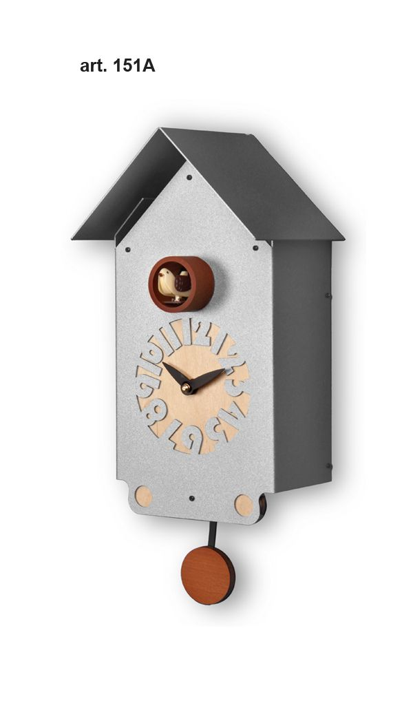 Modern cuckoo clocks design clocks design gifts cucu clocks modern cuckoos italian design - Orologi a cucu design ...