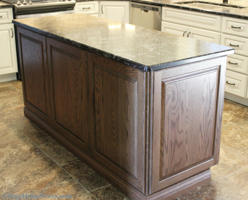 kitchen island back panel a kitchen island with applied decorative doors on back 4978