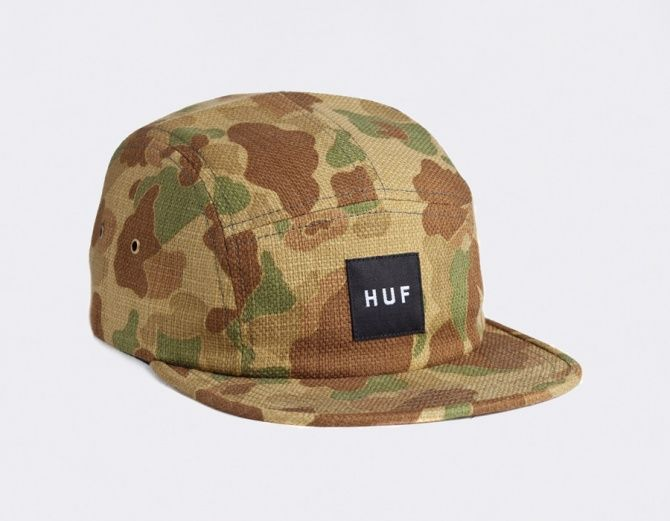 Huf 5 Panel Japanese Camo Caps In 2019 Huf Hats Spring 2014