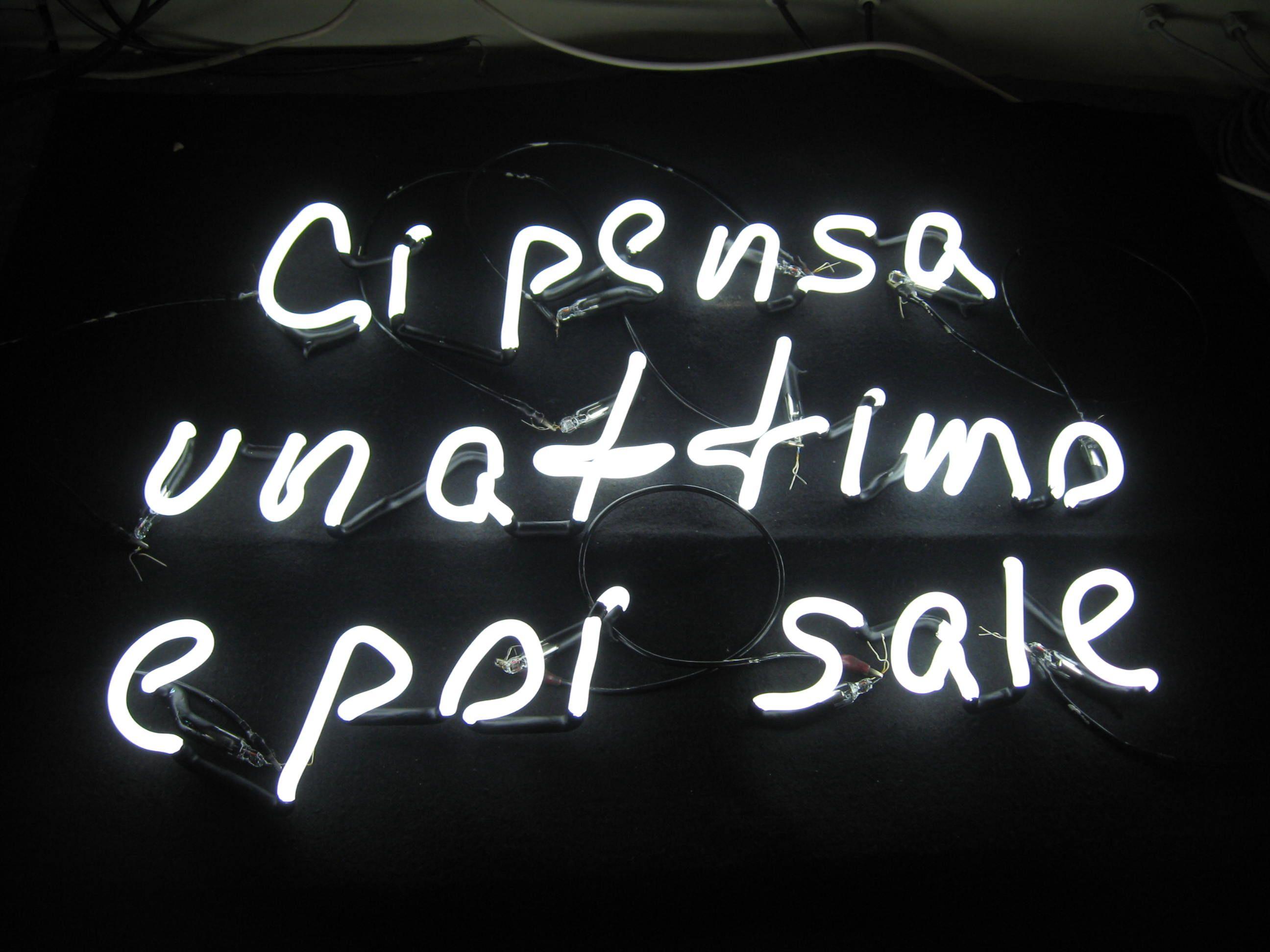 Neon scritte filo neon per arredare le tue pareti con una frase