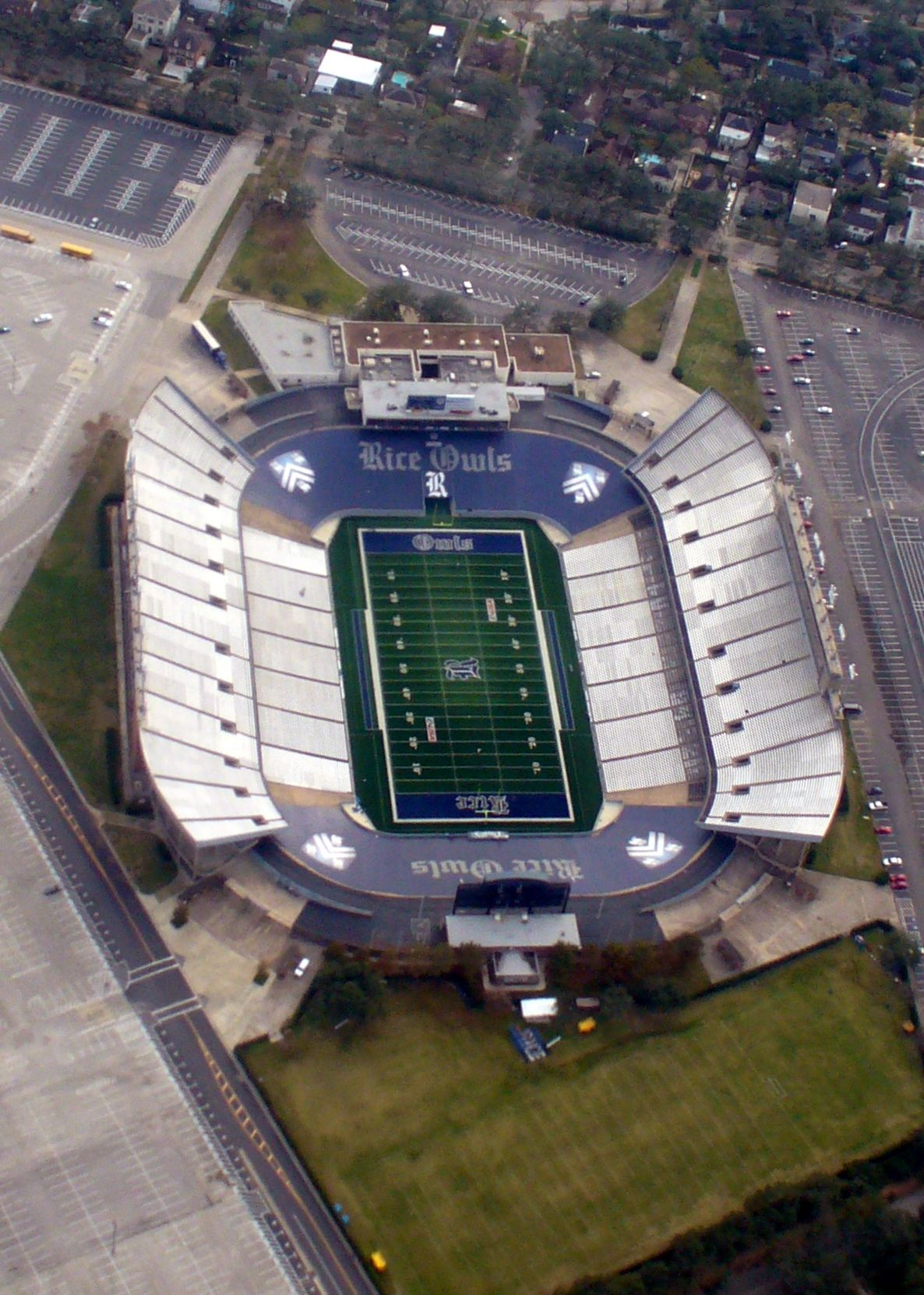 Aerial view of Aggie Stadium home of Aggie Football Field Hockey and Lacrosse Athletic Facilities Pinterest