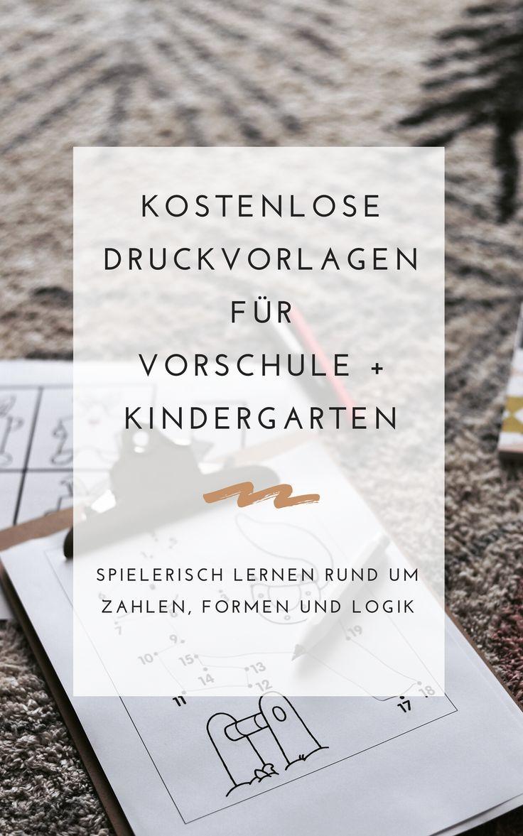 Einfache Spielideen zum Ausdrucken — a lovely journey #bastelideenkinder