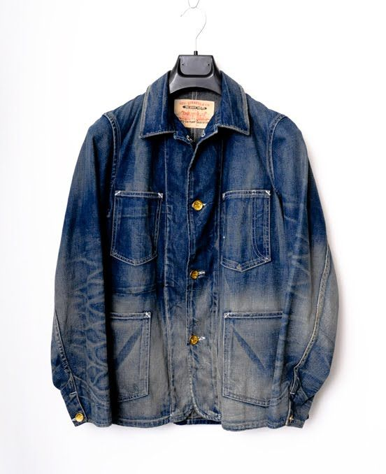 Levi S Vintage Clothing 1920 S Sack Coat Www Lost Founds Com Vintage Denim Jacket Denim Inspiration Denim Fashion