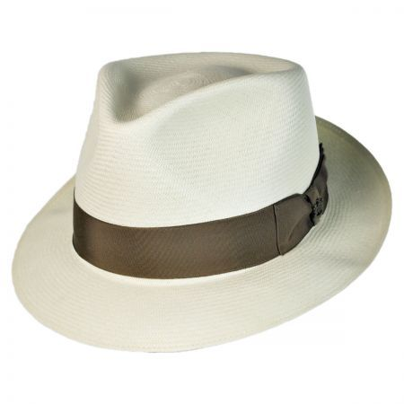 Montreal Imperial Premium Panama Fedora Hat available at  VillageHatShop beec1e7d4ba