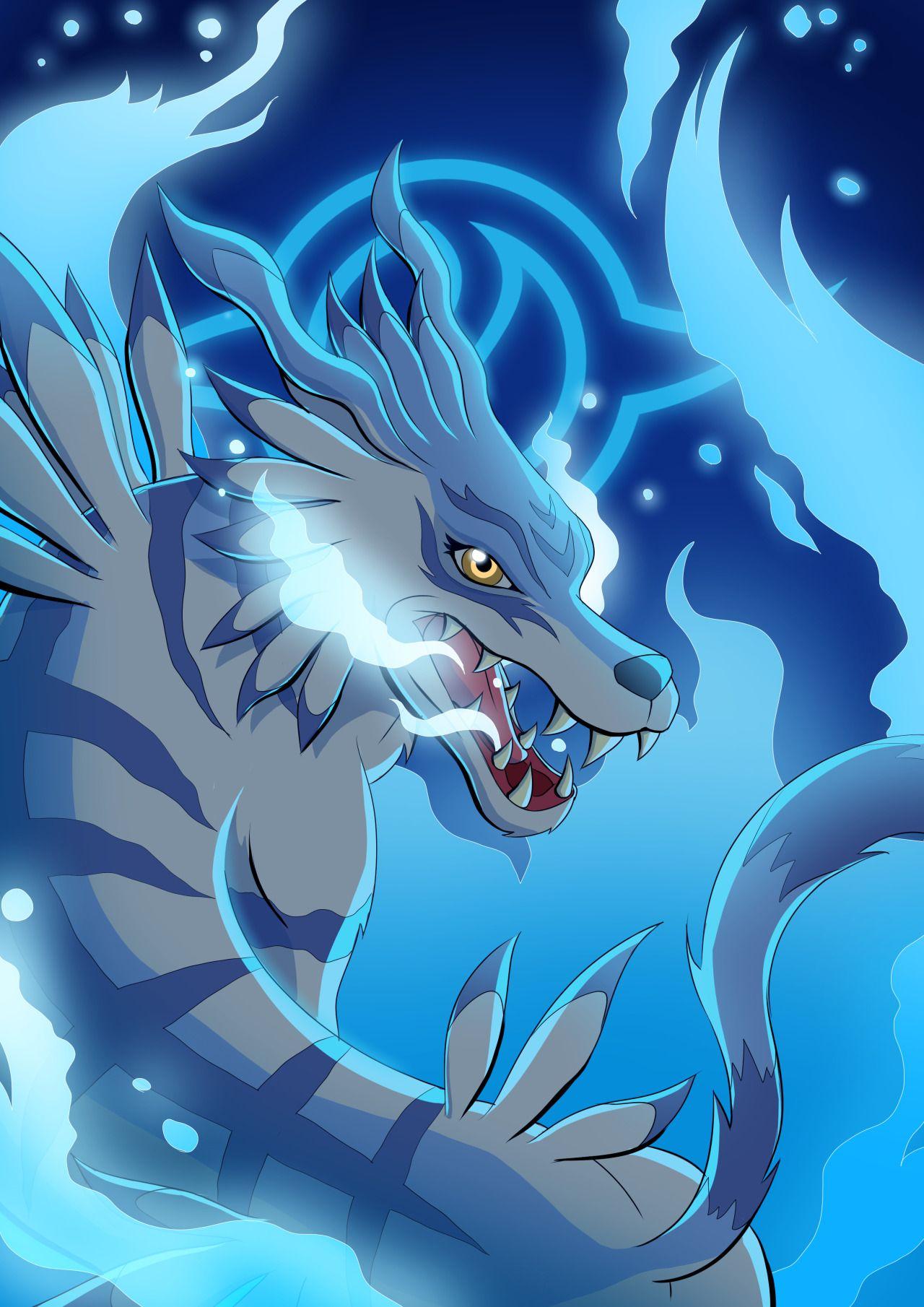 Garurumon | Digimon Adventure | Digimon wallpaper, Digimon ...