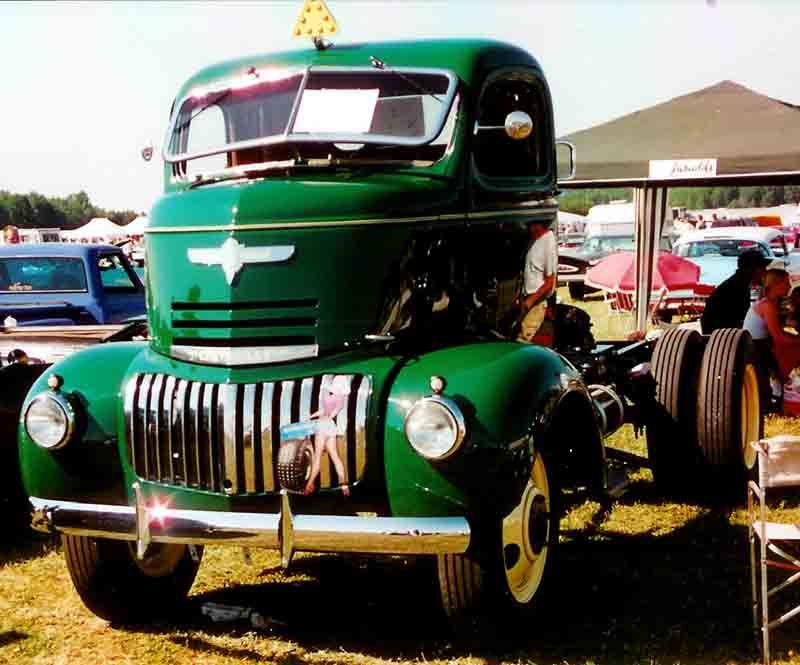 1942 Chevrolet COE Truck - Chevrolet AK Series - Wikipedia, the free ...