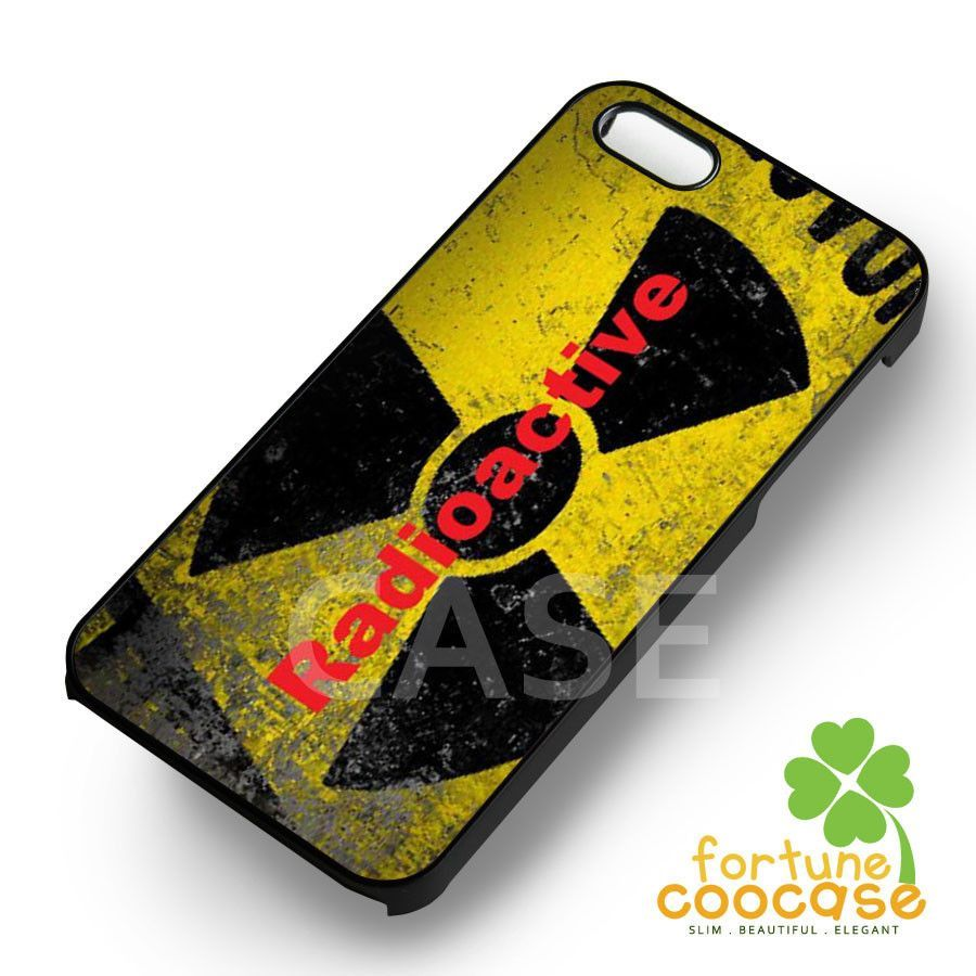 radioactive imagine dragons-1nn for iPhone 6S case, iPhone 5s case, iPhone 6 case, iPhone 4S, Samsung S6 Edge