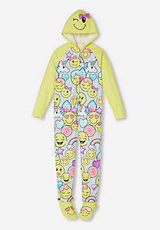 Hooded Emoji Onesie Pijamas Pinterest Emoji Onesie