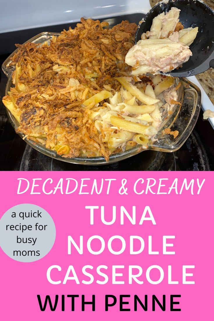 decadent & creamy classic tuna noodle casserole - eat well