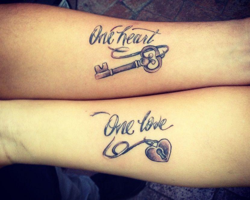 Tatuajes de parejas de amor con significado Tatuajes de parejas - tatuajes para parejas