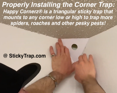 Happy Cornerz® 5 in 1 Sticky Traps Pests, Pest control