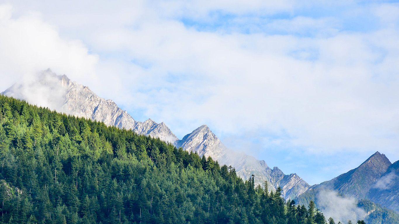 Desktop Wallpaper Laptop Mac Macbook Air Mt63 Nature Mountain Sky